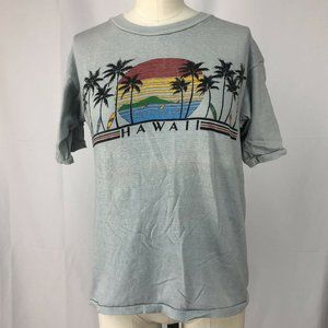 Vintage 1970s/80s Hawaii T-shirt, Transtees S/M